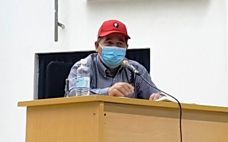 Miembro del Secretariado del Comité Central del PCC, José Ramón Monteagudo