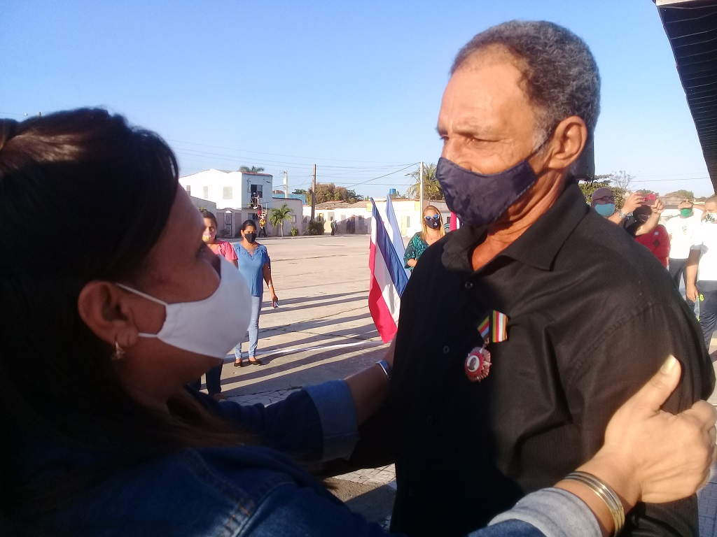 "El machetero de ""Marcial Jiménez"""
