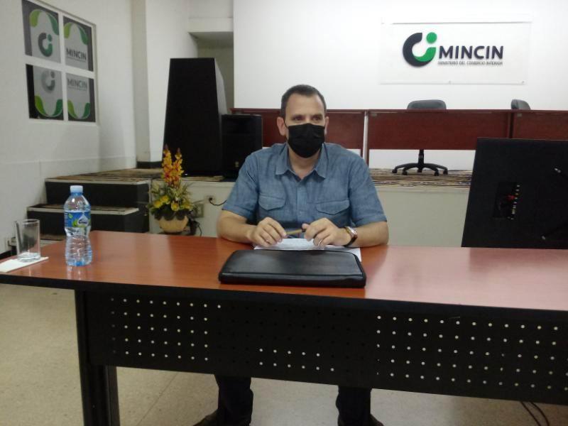 Viceministro del Ministerio de Comercio Interior Harold Pérez Teira