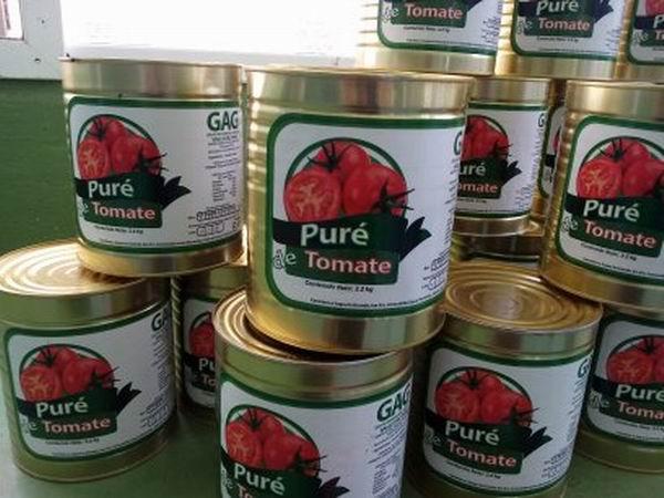 El producto estrella es el puré de tomate