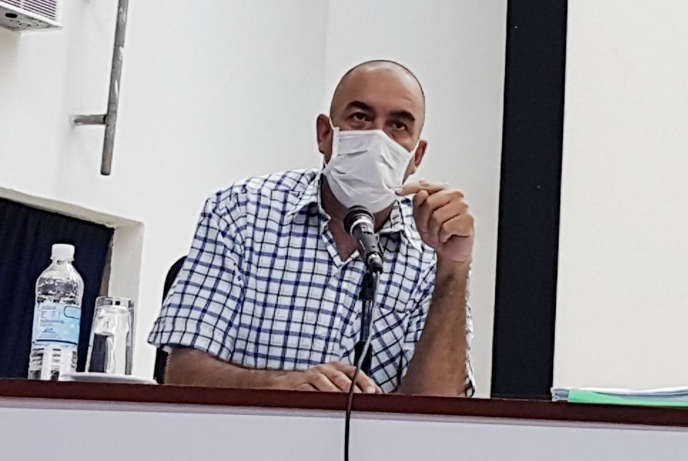 Ministro de la Agricultura, Ydael Pérez