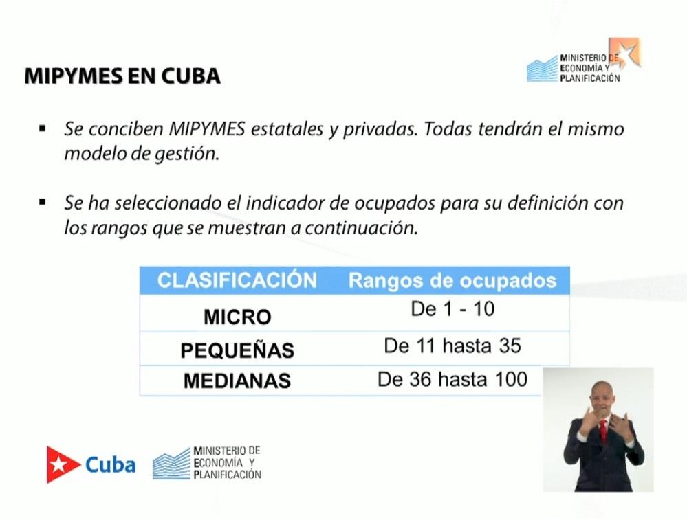 Prevé gobierno cubano creación de las primeras pymes para agosto y septiembre