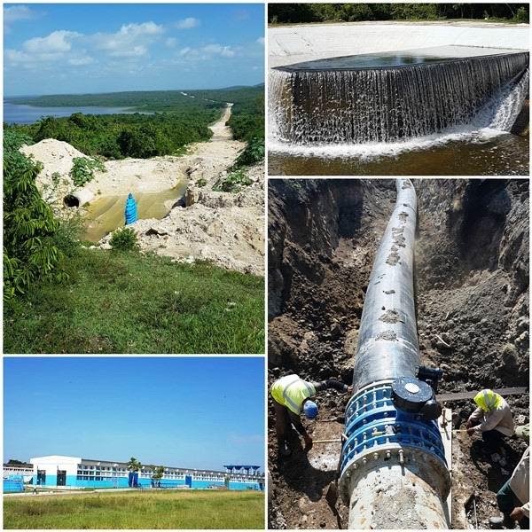Obras hidráulicas asociadas a la ejecución del crédito de Arabia Saudita en Camagüey.