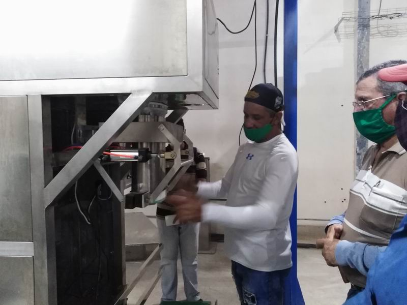 En Audio: Realizan pruebas finales en Planta beneficiadora de granos de Las Tunas