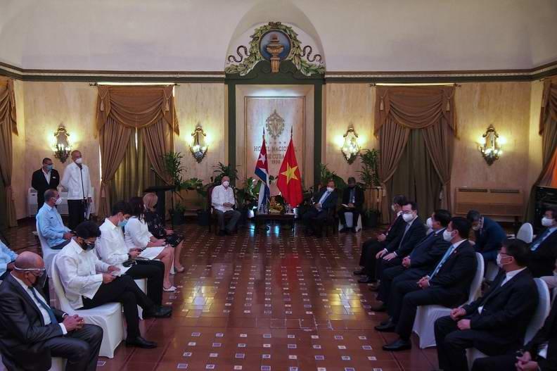Reconoce presidente de Vietnam Nguyen Xuan Phuc potencialidades de la Zona Especial de Desarrollo Mariel (+Audio)