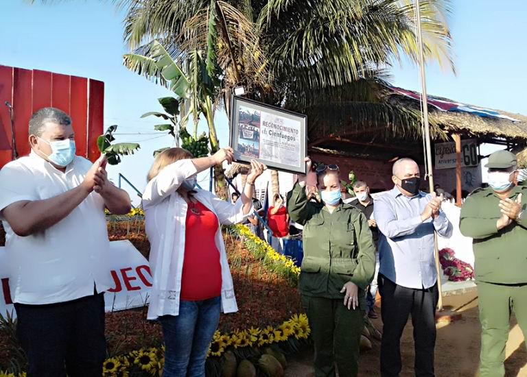 Recibe la ANAP de Cienfuegos reconocimiento de Destacada Nacional (+Audio)