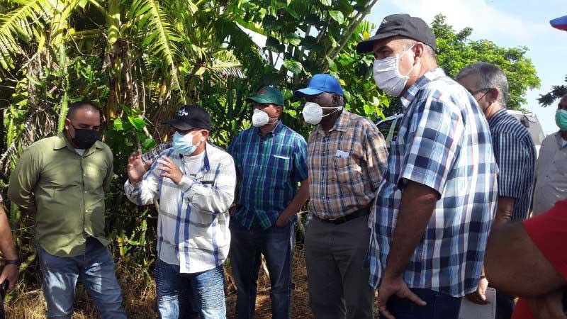 Insta Valdés Mesa en Matanzas a intercambio permanente con productores
