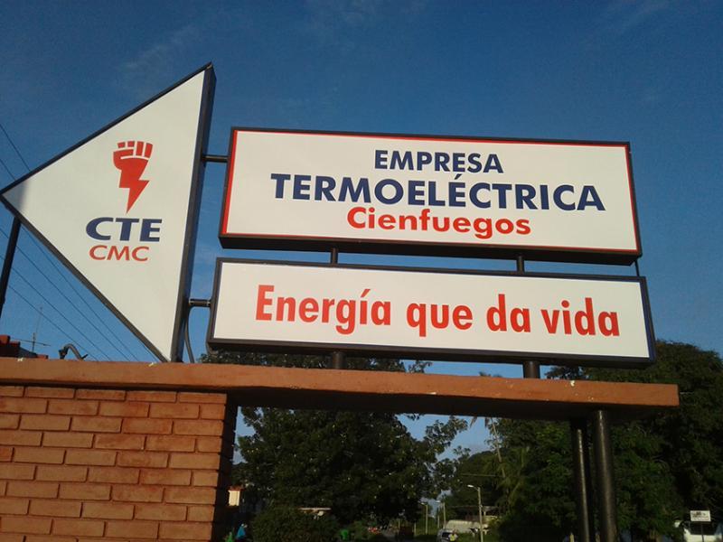 Sincronizada al Sistema Nacional Unidad No. 4 de Termoeléctrica cienfueguera (+Audio)
