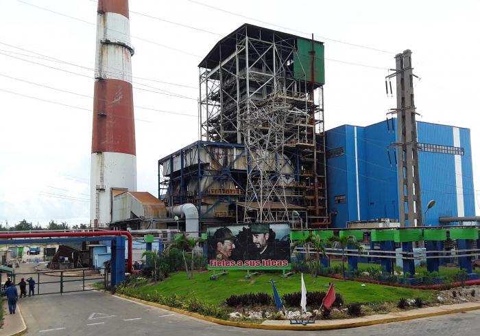 Central Termoeléctrica Guiteras ya genera energía