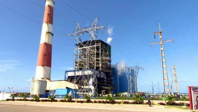La central termoeléctrica Antonio Guiteras genera sobre los 230 megavatios de potencia y se mantiene estable
