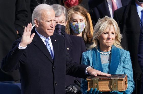 Joe Biden takes oath as U.S. president amid heavy security