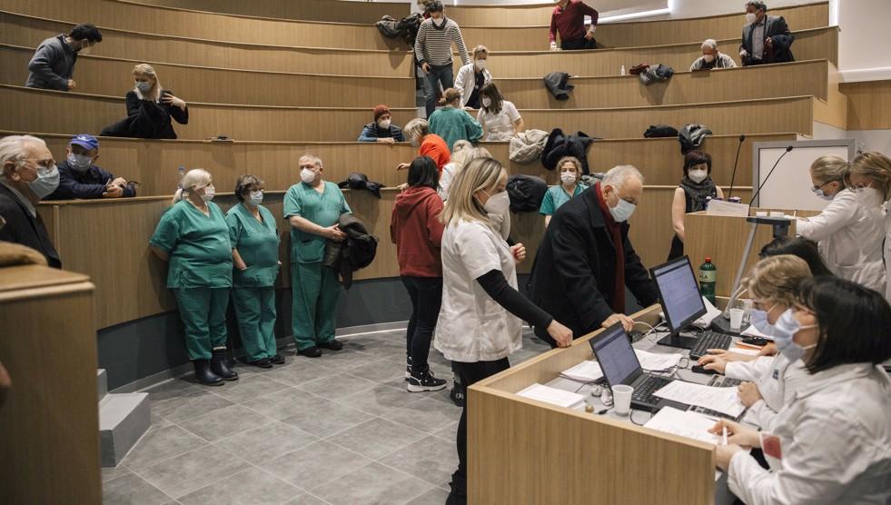 Vaccination of East Europeans faces hurdles amid public mistrust