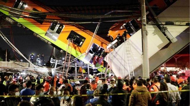 Accidente en Metro de la Ciudad de México deja 23 muertos