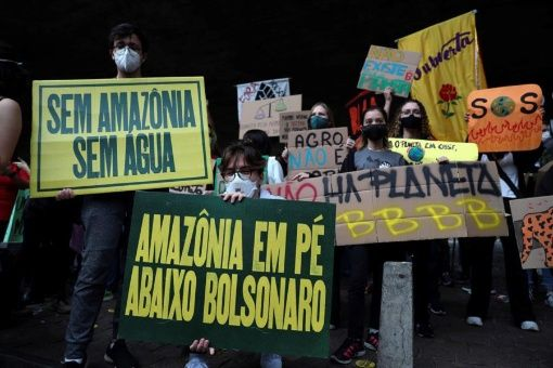 Brazilian president accused of crimes against humanity for destruction of Amazon