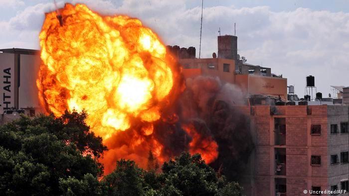 Las tropas terrestres de Israel realizan ataques en Gaza