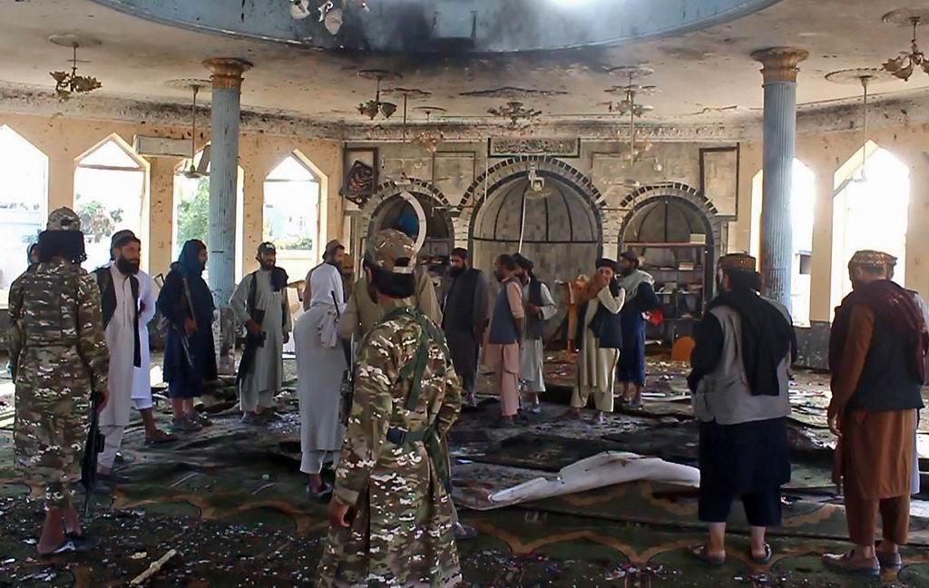 Atentado con bomba en mezquita chií en Afganistán deja varias víctimas
