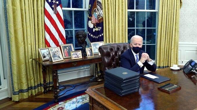 El nuevo presidente de estados Unidos firma 15 acciones ejecutivas