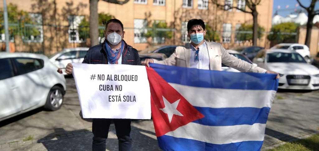 Llaman en Europa a nueva jornada mundial contra el bloqueo