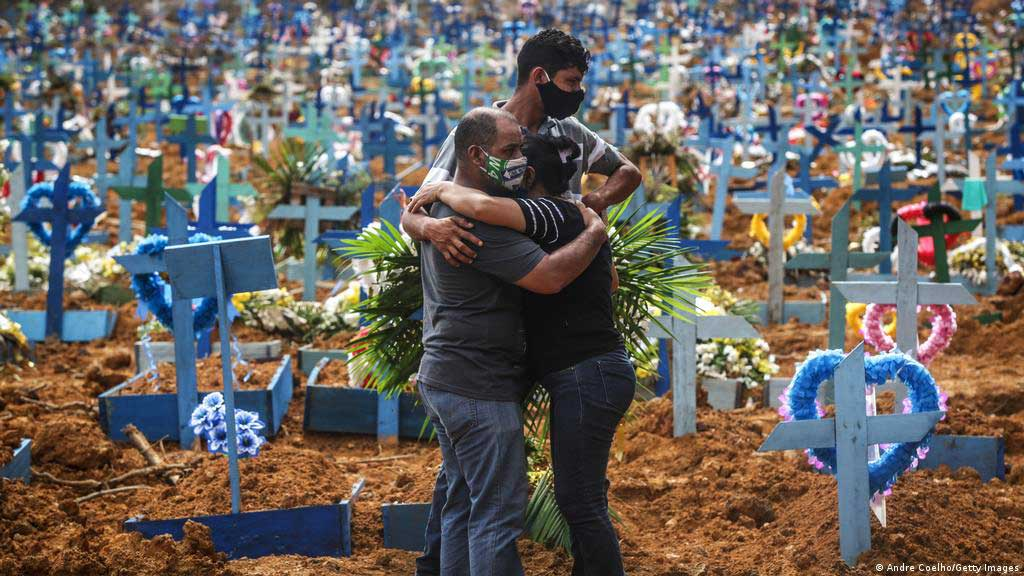 Advierten expertos sobre dramática situación en Brasil por la COVID-19