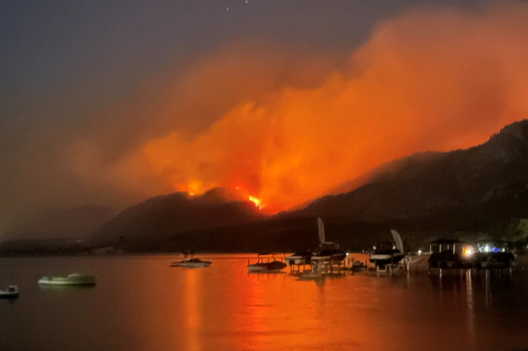 Canada British Colombia declares state of emergency as wildfires surge