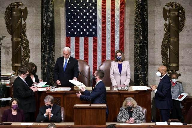 Ratifica Congreso de Estados Unidos victoria del demócrata Joe Biden