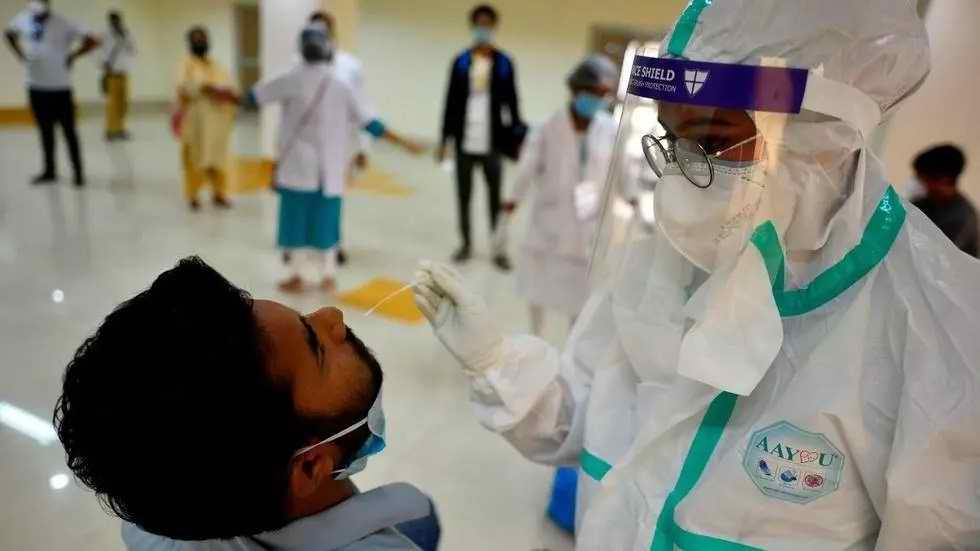 El Mundo cerca de la tasa más alta de contagios por COVID-19