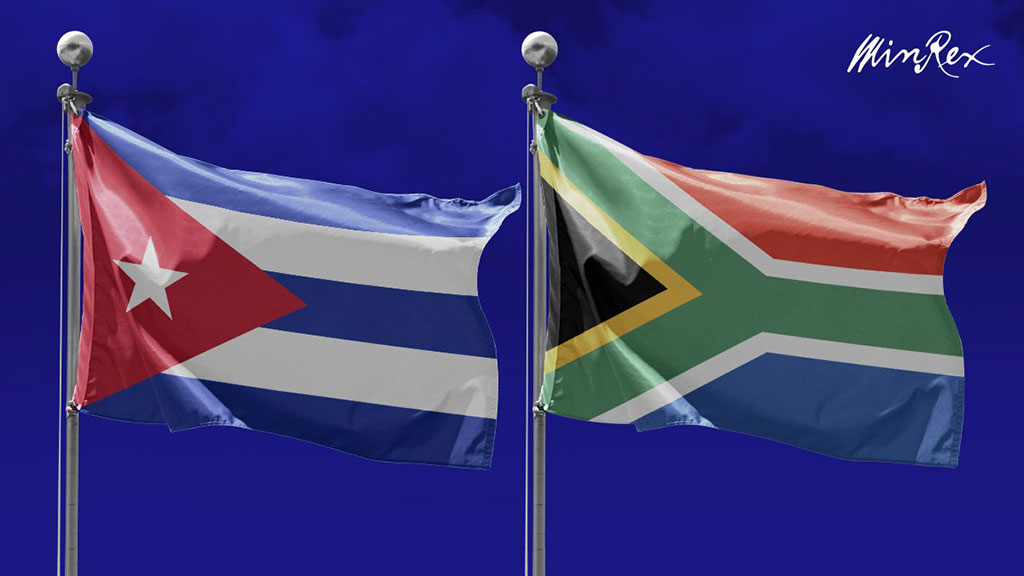 Agradece Díaz-Canel a presidente de Sudáfrica solidaridad a favor del fin del bloqueo