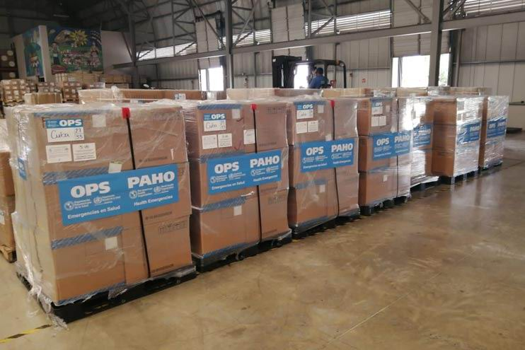 Pan American Health Organization to donate 12 tons of medical supplies to Cuba