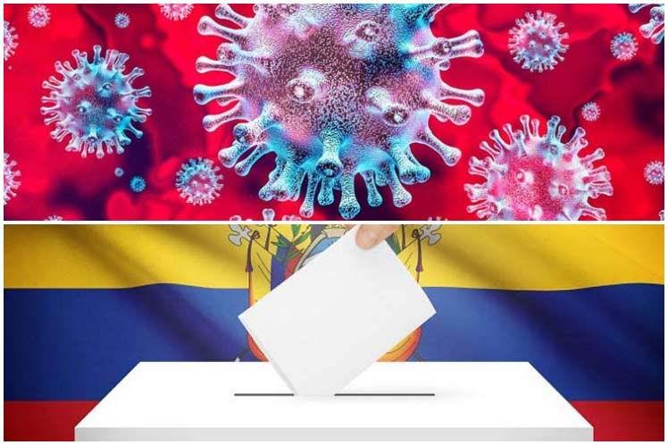 Ecuador, rebrote de la COVID y elecciones