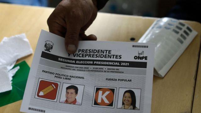 De las elecciones en Perú