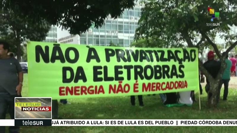 Congreso de Brasil aprueba privatización de Eletrobras