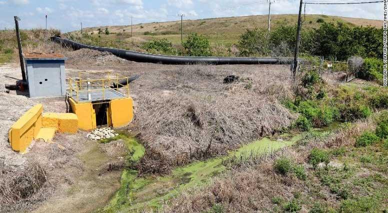 Florida en riesgo de inundación catastrófica a causa de embalse de aguas residuales