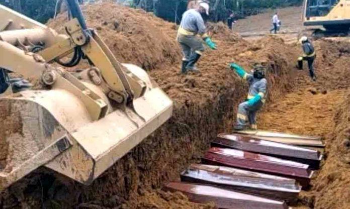 Según la municipalidad, Manaos registró el miércoles 198 entierros en un único día, con lo que superó el récord diario por cuarto día consecutivo
