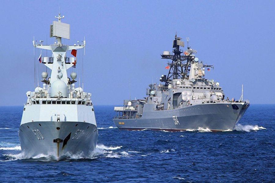 Rusia y China inician maniobras militares conjuntas