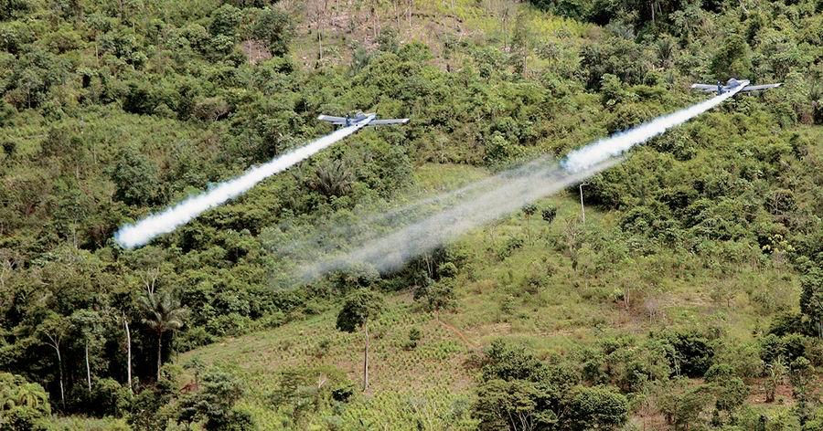 El retorno de las aspersiones con glifosato planea de nuevo sobre Colombia