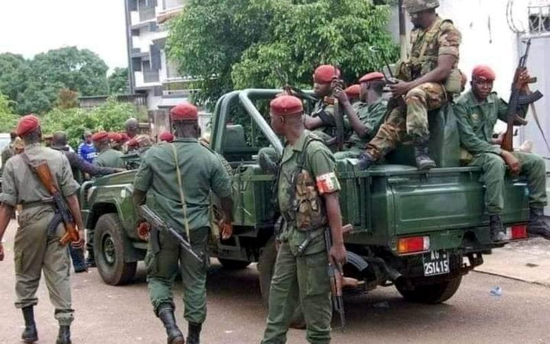 Golpistas en Guinea anuncian un toque de queda en todo el país (+Video)