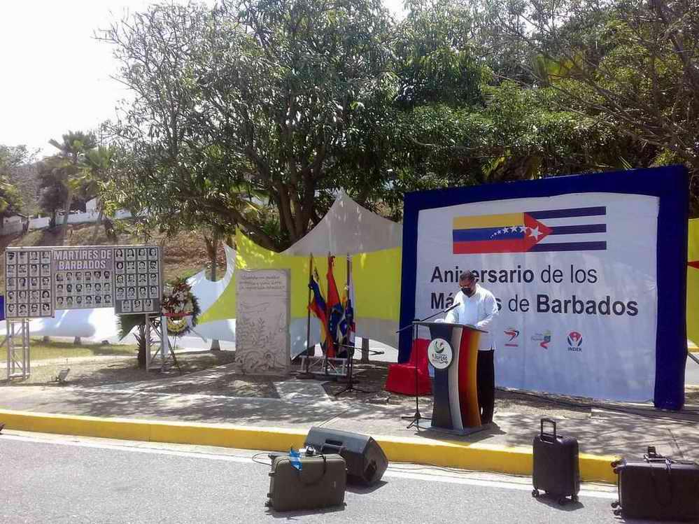 En Venezuela tembló la injusticia de Barbados (+Audio)