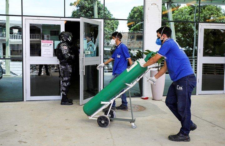 Colapsada la infraestructura sanitaria de Manaos, en Brasil