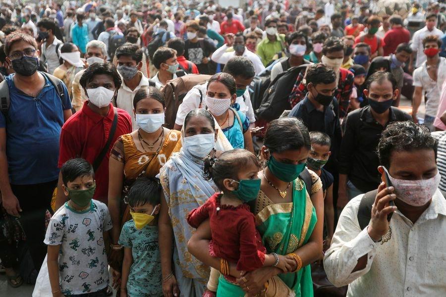India bate récord de contagios de la Covid-19 en 24 horas