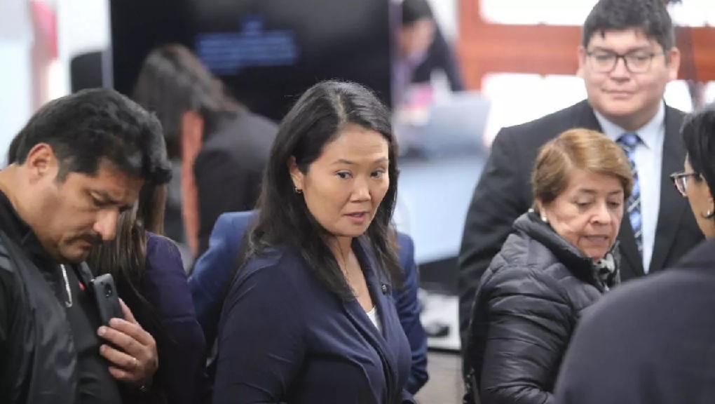 Analizará juez peruano situación legal de la aspirante presidencial Keiko Fujimor