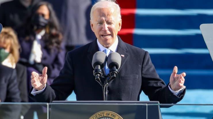 En circunstancias inéditas, Joe Biden asume como presidente de Estados Unidos (+ Fotos y Video)