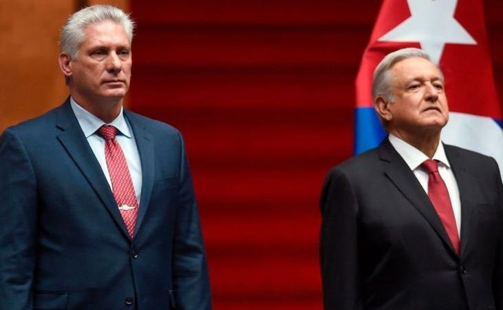 López Obrador anunció visita oficial del presidente cubano a México
