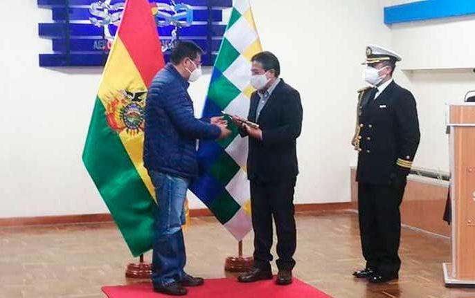 Presidente de Bolivia llega a México para visita oficial