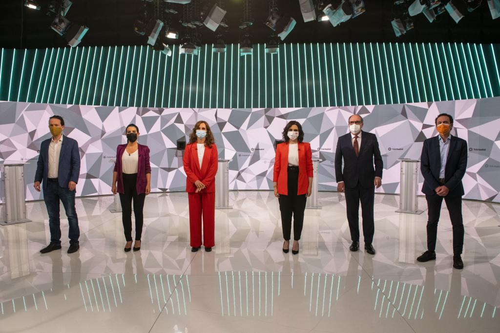 Batallan la derecha y la izquierda por el gobierno de la comunidad autónoma de Madrid