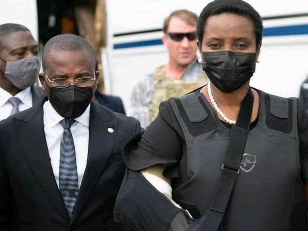 Martine Moise, viuda del presidente haitiano, anunció este martes que su familia costeará el funeral de Estado de su marido