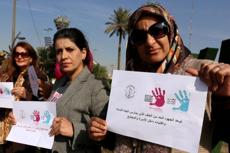 Iraqi women struggle to escape abuse as domestic violence rises