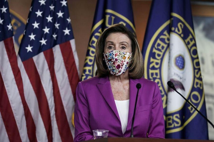 Presidenta de la Cámara de Representantes de Estados Unidos, Nancy Pelosi