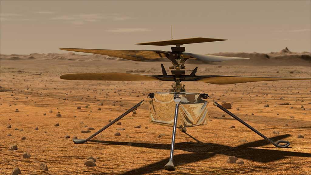 Alcanza la humanidad otro hito en la exploración espacial con primer vuelo en Marte