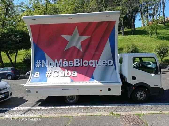 Caravana mundial contra el bloqueo a Cuba