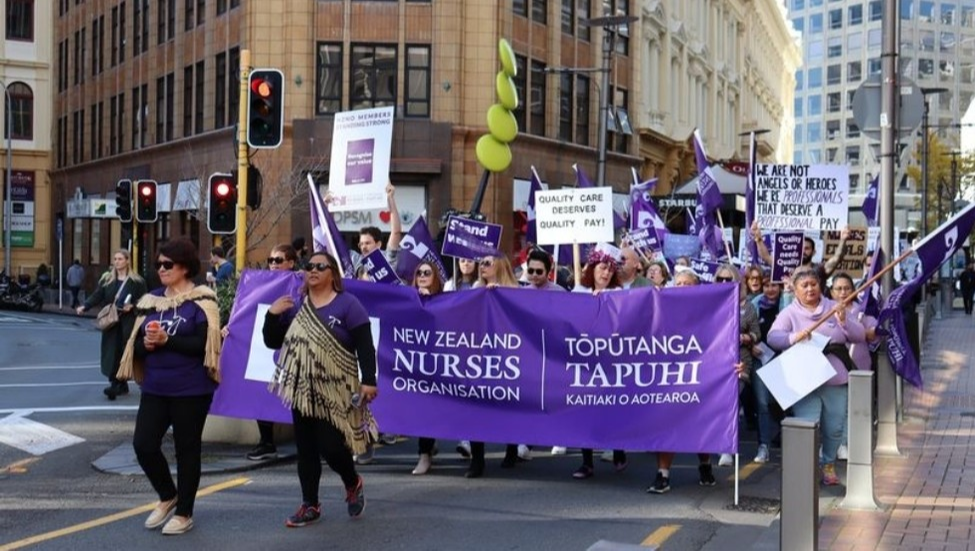 New Zealand nurses go on strike for safer working conditions